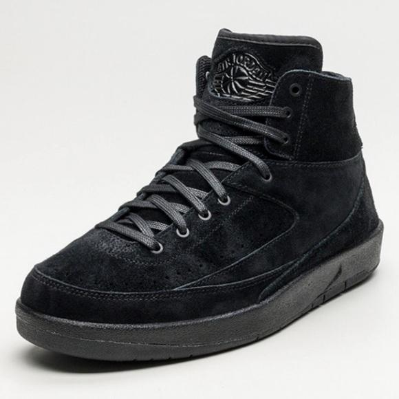 cheaper c8418 1ea73 Nike Air Jordan 2 Retro Decon Triple Black
